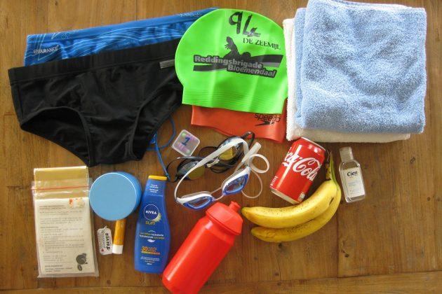 Benodigde spullen voor een open water zwemtocht