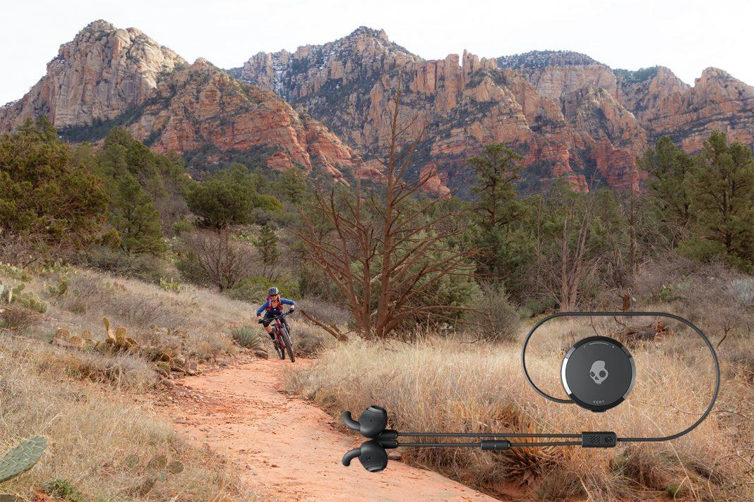 Muziek op board en bike met de Skullcandy Vert