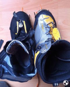 Salewa Pro Gaiter & La Sportiva met stijgijzers