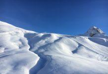 sneeuw in Samnaun