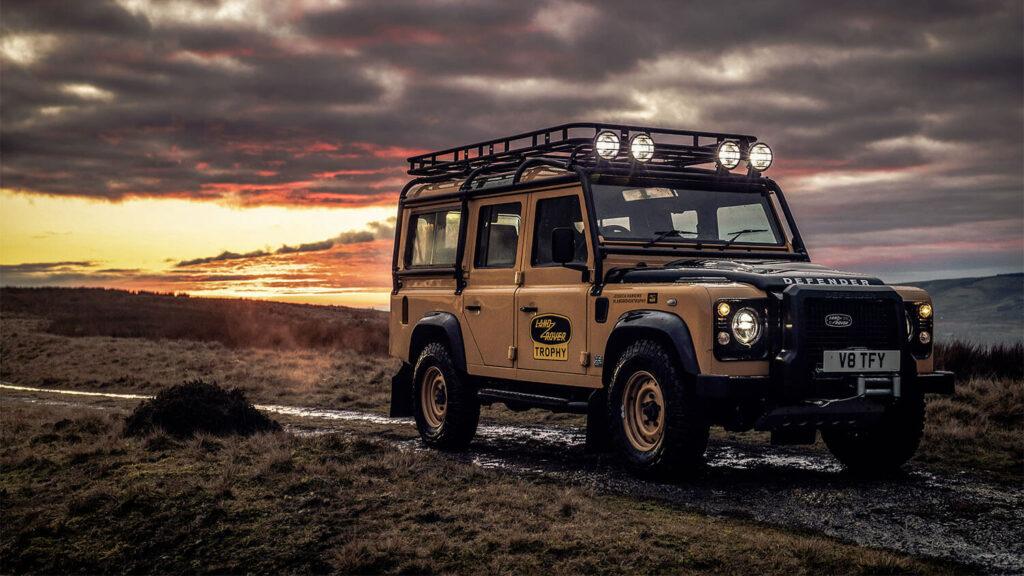 Land Rover Classics bouwt 25 Defender Works V8 Trophy exemplaren
