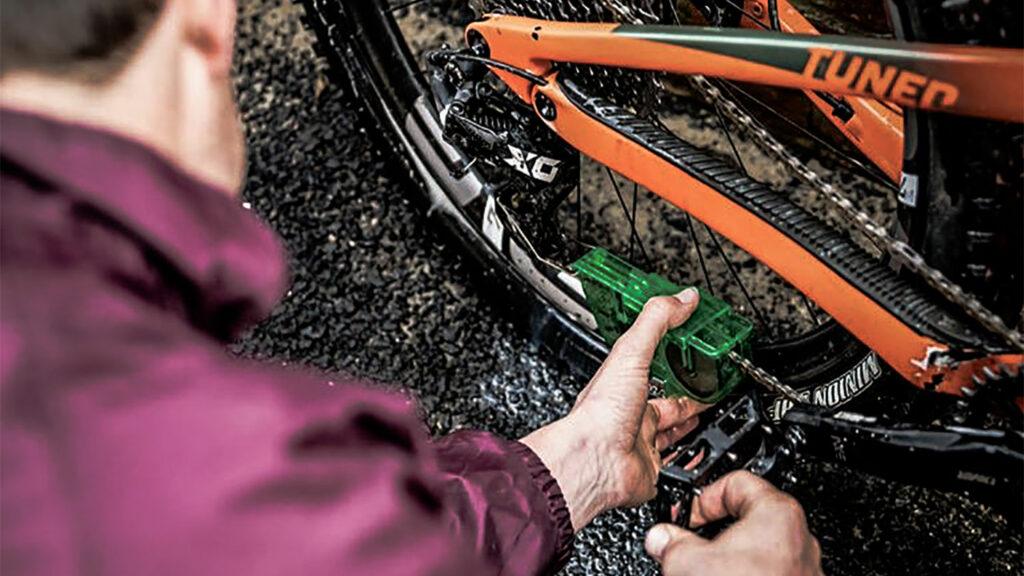 Biologisch je fiets schoon met Juice Lubes