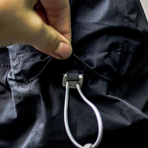 Review: Dames Vaude Elope jacket van gerecycled polyester