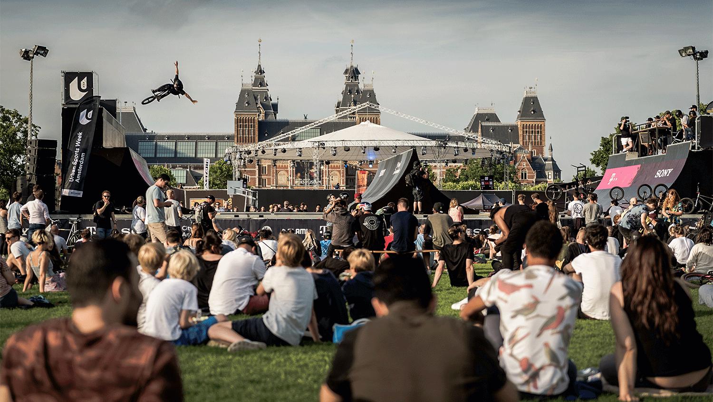 De Urban Sports Week Amsterdam komt er weer aan